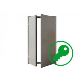 Вскрытие входных металлических дверей